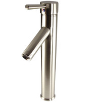 FFT1045BN | Fresca Soana Single Hole Vessel Mount Bathroom Vanity Faucet - Brushed Nickel