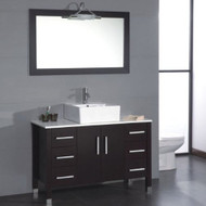 """Cambridge 48"""" Bathroom Vanity Set with a Ploished Chrome Faucet"""