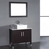 "Cambridge 36""  Bathroom Vanity Set with a Brushed Nickel Faucet"