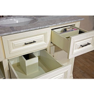Bellaterra Home 605022 | 50 in Single Sink Vanity-Antiwhite