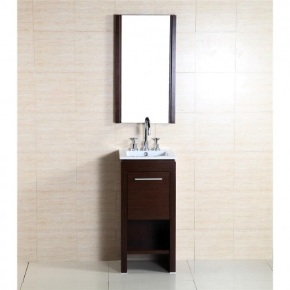 bellaterra home 500137 16 inch single sink vanity