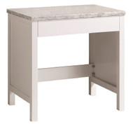Design Element MUT-W | Make-up table in White Finish