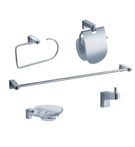 FAC2300 | Fresca Generoso 5-Piece Bathroom Accessory Set - Chrome