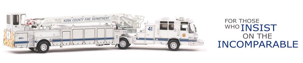 Kern County Truck 41 Scale Model