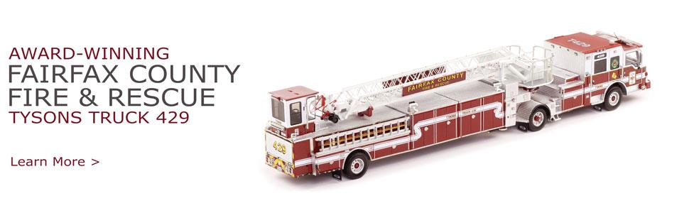 Fairfax County Tyson's Truck 429 Scale Mode