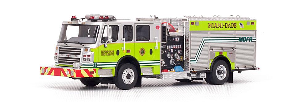 Miami-Dade Rosenbauer Commander Engine
