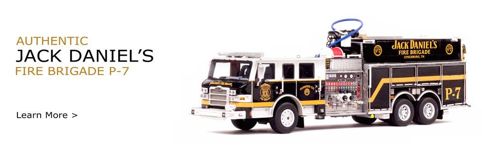 Jack Daniel's Fire Brigade P-7 Scale Model now in stock