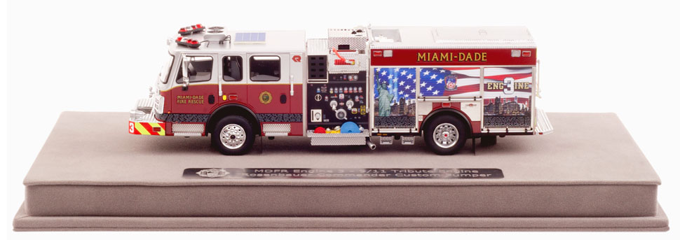 Never Forget 343 - Miami-Dade Fire Rescue Engine 3 Tribute