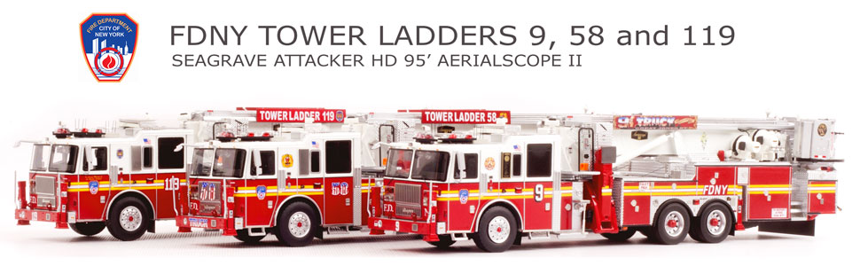 Order your 3-piece FDNY Tower set and save 10%