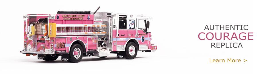 PGFD Courage E805 Pumper Scale Model