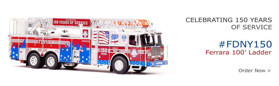 #FDNY150 Scale Model now in stock