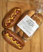 Dairy Free Hot Dog Buns (4 pieces)