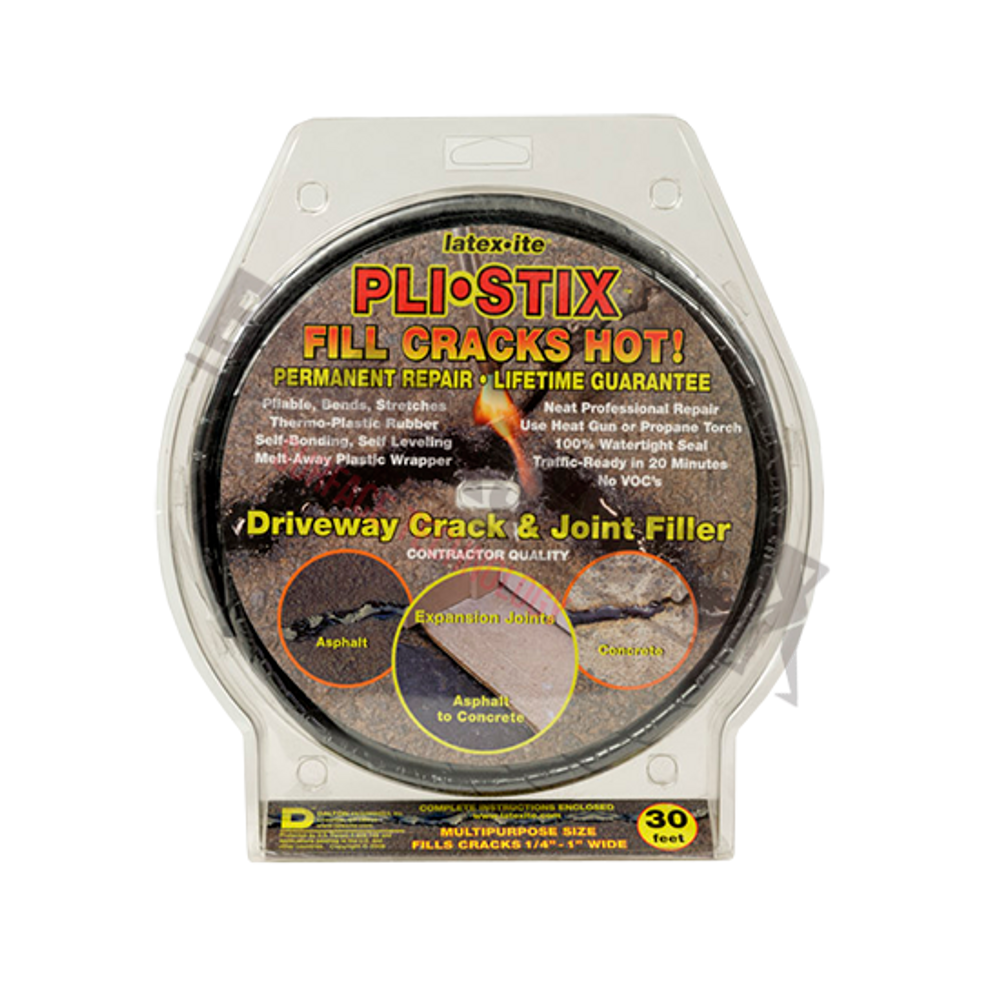 Pli-Stix Permanent Crack Filler For Tarmac, Asphalt and Concrete