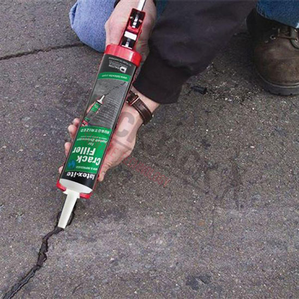 Latex-ite® Driveway Crack and Joint Filler Application