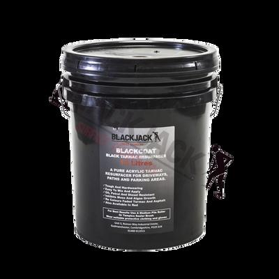 Blackcoat Acrylic Plus 18 Litre Black Tarmac Sealer and Resurfacer