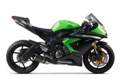 TWO BROTHERS RACING 2 BROS 005-3860105-S1 FULL EXHAUST SYSTEM  SHORTY CARBON FIBER CF S1R S1-R MUFFLER   STAINLESS SS HEADER / COLLECTOR & MID / LINK PIPE  COME WITH FENDER ELIMINATOR PLATE KIT  KAWASAKI ZX6R ZX-6R ZX636 ZX-636 NINJA  09 10 11 12 13 14 15 16 2009 2010 2011 2012 2013 2014 2015 2016