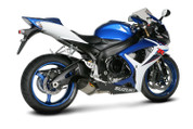AKRAPOVIC S-S6SO5-TT SO 2 TITANIUM TI OPEN EXHAUST GSXR600 GSXR750 06-07