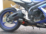 AKRAPOVIC S-S6SO5-TC SO 2 CARBON OPEN EXHAUST GSXR600 GSXR750 06-07