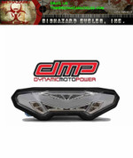 DMP 905-6399 POWERGRID INTEGRATED TAIL LIGHTS (CLEAR)  FZ09 14-16 FZ10 2017 Integrated LED Clear Tail Light