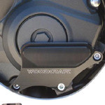WOODCRAFT 60-0338RB RHS Clutch Cover Protector Assembly Black W Skid Plate Kit CBR600RR 07-11