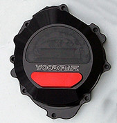 WOODCRAFT 60-0338LB LHS Stator Cover Black W/Skid Plate CBR600RR 07-11