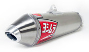 YOSHIMURA 2435703 RS2 RS-2 SLIP ON SO EXHAUST SYSTEM STAINLESS STEEL SS MUFFLER & LINK /  MID PIPE KAWASAKI KLR650 KLR 650  03 04 05 06 07 08 09 10 11 12 13 14 15
