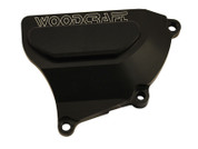 WOODCRAFT CFM 60-0339RB BLACK  RIGHT SIDE CLUTCH COVER PROTECTOR CASE SAVER   HONDA CBR1000 CBR1000RR CBR 1000 1000 RR FIREBLADE 08 09 10 11 12 2008 2009 2010 2011 2012 13 2013 14 15 2014 2015 16 2016
