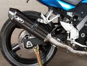 M4 SU6614 CF SO EXHAUST SV650 04-10