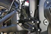SATO RACING REARSETS CBR600RR 09-13 H-CBR609RS NON ABS MODEL