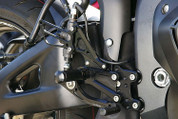 SATO RACING REARSETS BLACK R1 09-13