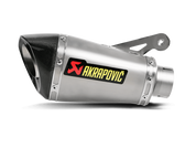 AKRAPOVIC S-B10SO1-HASZ SLIP ON SO EXHAUST SYSTEM TITANIUM TI SHORTY  MUFFLER W CARBON FIBER END CAP CF   BMW S1000 S1000RR 1000 1000RR  2010 2011 2012 2013 2014 10 11 12 13 14