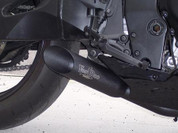 VOODOO VEGSXR6-7K8CDB SHORTY BLACK SO EXHAUST 08-13