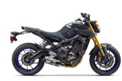 TWO BROTHERS 2 BROS 005-3790105-S1 FULL EXHAUST SYSTEM S1-R S1R CARBON FIBER CF MUFFLER STAINLESS HEADER / COLLECTOR & MID / LINK PIPE YAMAHA FZ09 FZ 09 FZ9 FZ-9  14 2014 15 2015 16 2016