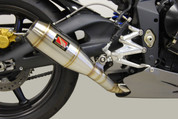 COMPETITION WERKES WT676-S WT676 SLIP-ON SLIP ON SO EXHAUST  GP STYLE HAND WELDED STAINLESS MUFFLER  TRIUMPH STREET TRIPLE 08 09 10 11 12 2008 2009 2010 2011 2012