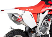 YOSHIMURA 2280513 FULL EXHAUST SYSTEM  RS-2 RS2 ALUMINUM MUFFLER  STAINLESS STEEL SS HEADER / COLLECT & MID / LINK PIPE HONDA CRF250X CRF 250X  04 05 06 07 08 09 10 11 12 13 14 15 16 2004 2005 2006 2007 2008 2009 2010 2011 2012 2013 2014 2015 2016