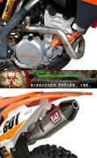 YOSHIMURA 262511D720 KTM 250 350 SX-F SXF 13-15 FULL EXHAUST SYSTEM