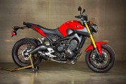 M4 YA6914 SLIP ON SO EXHAUST SYSTEM CARBON FIBER CF STREET SLAYER MUFFLER  YAMAHA FZ09 FZ 09 FZ9 FZ-9  14 2014 15 2015 16 2016