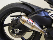 COMPETITION COMP WERKES WS758-S GP STYLE SLIP ON SO EXHAUST HAND WELDED STAINLESS STEEL SS GP STYLE MUFFLER STREET MODEL WITH BAFFLE SUZUKI GSXR600 GSXR750 GSX-R600 GSX-R750 GSXR-600 GSXR-750 GSXR 600 750 11 12 13 2011 2012 2013 14 15 16 2014 2015 2016