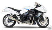 YOSHIMURA 1121086 R55 R-55  COMPLETE FULL EXHAUST SYSTEM  STAINLESS STEEL SS MUFFLER, HEADERS / COLLECTORS & LINK / MID PIPE SUZUKI GSX1300R GSXR1300 GSX-1300R 1300 1300R HAYABUSA  08 09 10 11 2009 2008 2010 2011 12 13 14 15 2012 2013 2014 2015