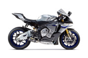 TWO BROTHERS RACING 2 BROS 005-4260405-S1 SLIP ON SO EXHAUST SYSTEM  S1R S1-R CARBON FIBER MUFFLER  STAINLESS LINK / MID PIPE DELETES CAT CATALYZER REMOVED   YAMAHA YZF-R1 YZFR1 YZF-R1000 R1 YZF  YZF-R1M R1M  2015 15