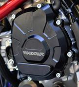 WOODCRAFT CFM 60-0454LB LHS Stator Cover Assembly Black  YAMAHA YZF-R1 YZF-R1M R1 R1M 2015 15