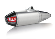 YOSHIMURA 234812D321 RS-4 RS4 COMPLETE FULL EXHAUST SYSTEM  STAINLESS MUFFLER W CARBON END CAP   STAINLESS  MID / LINK PIPE  YAMAHA YZ450F YZ-450F YZ450 YZ 450 450F  14 15 16 2014 2015 2016
