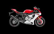 AKRAPOVIC S-Y10R12-HX2C RACING LINE FULL EXHAUST SYSTEM  CARBON FIBER CF MUFFLER  STAINLESS HEADER / COLLECTOR & MID / LINK PIPE  YAMAHA R1 R1M YZF-R1 YZFR1 2015 15 16 2016