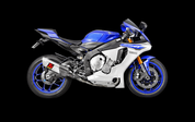 AKRAPOVIC S-Y10E3-APT EVOLUTION LINE FULL EXHAUST SYSTEM  TITANIUM MUFFLER W CARBON HEATSHIELD  TITANIUM HEADER / COLLECTOR & MID / LINK PIPE  58% WEIGHT SAVING OVER STOCK SYSTEM 12.7 POUNDS LIGHTER!  YAMAHA R1 R1M YZF-R1 YZFR1 2015 15 16 2016