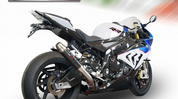 GPR BMW.75.RACE.DC SLIP ON SO EXHAUST SYSTEM  DEEPTONE CARBON LOOK RACING GP STAINLESS SS MUFFLER  RACE VERSION   BMW S1000RR 1000RR  15 16 2015 2016   HAND MADE IN ITALY