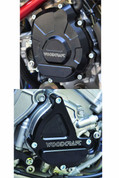 WOODCRAFT CFM RACING ENGINE CASE SAVER SKID PLATE KIT  60-0454LB & 60-0454RB  YAMAHA R1 R1M YZF-R1 YZFR1 2015 15 16 2016