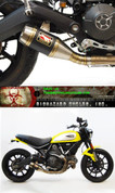 COMPETITION / COMP WERKES  WDSCR SLIP-ON SLIP ON SO EXHAUST SYSTEM  HAND WELDED STAINLESS GP SHORTY MUFFLER  DUCATI SCRAMBLER   15 16 2015 2016