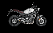 AKRAPOVIC S-Y9R2-AFC-XSR900 COMPLETE FULL EXHAUST SYSTEM  RACING LINE STAINLESS HEADER / COLLECTOR & MID / LINK PIPE  CARBON HEX MUFFLER W CF END CAP   YAMAHA XSR900 XSR-900 XS-R900 XSR 900  2016 16
