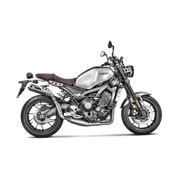 AKRAPOVIC S-Y9R6-HBTBL COMPLETE FULL EXHAUST SYSTEM  RACING LINE STAINLESS HEADER / COLLECTOR & MID / LINK PIPE  HIGH MOUNT TITANIUM MUFFLER   YAMAHA XSR900 XSR-900 XS-R900 XSR 900  2016 16