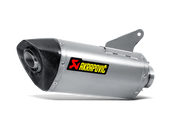 AKRAPOVIC S-D9SO8-RT SLIP-ON EXHAUST  TITANIUM MUFFLER W CARBON FIBER CF END CAP  DUCATI HYPERSTRADA 939 2016 16